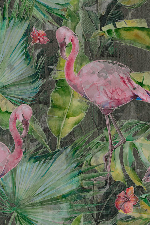DECORATIVES - FLAMINGO
