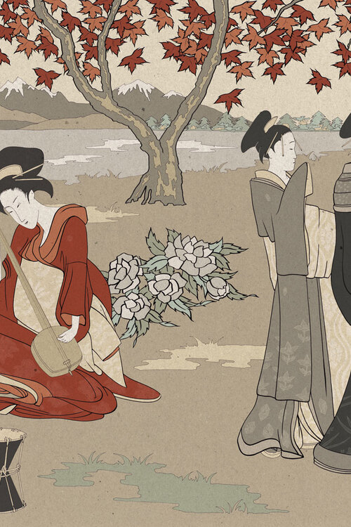 ART COLLECTIONS - BELTRAMI -JAPANESE TRIBUTE